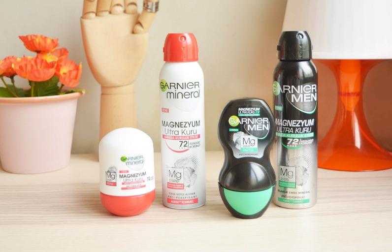Deniyoruz: Garnier Magnezyum Ultra Kuru Deodorant
