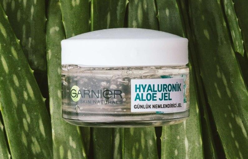 Garnier Hyaluronik Aloe Jel'i Kullanmanın 5 Farklı Yolu