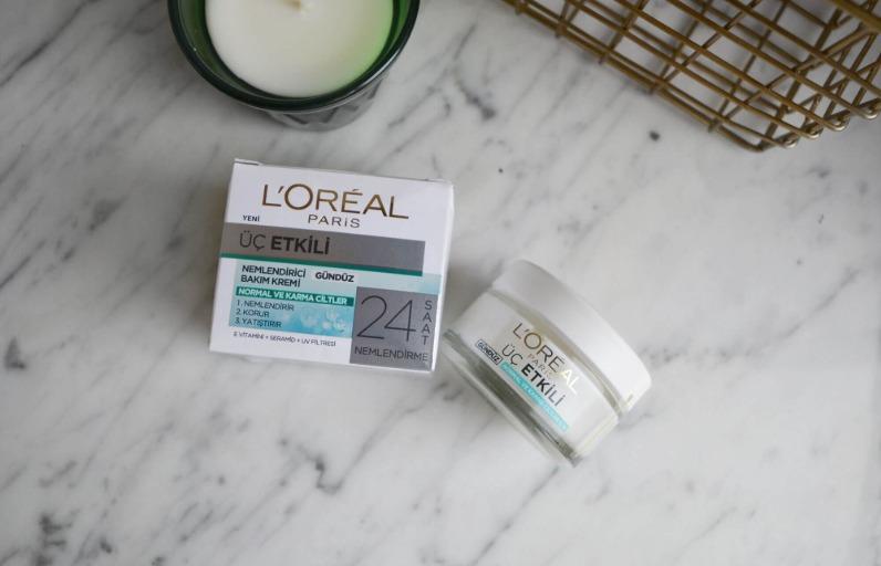 İnceliyoruz: L'Oréal Paris 3 Etkili Nemlendirici Krem