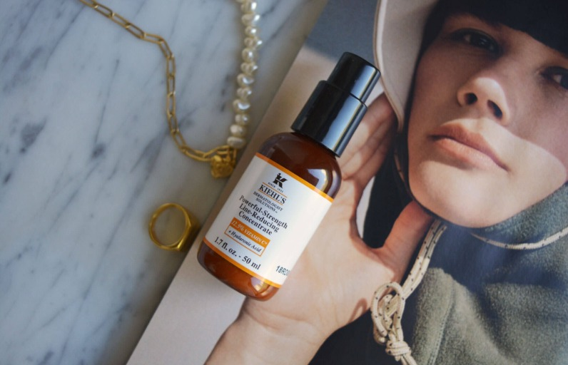 Deniyoruz: Kiehl's Powerful-Strength Line-Reducing Concentrate C Vitamini Serumu