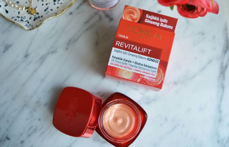 Deniyoruz: L'Oréal Paris Revitalift Ginseng Gündüz Kremi