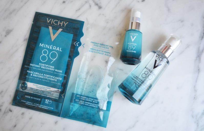 Deniyoruz: Vichy Mineral 89 Yüz Maskesi