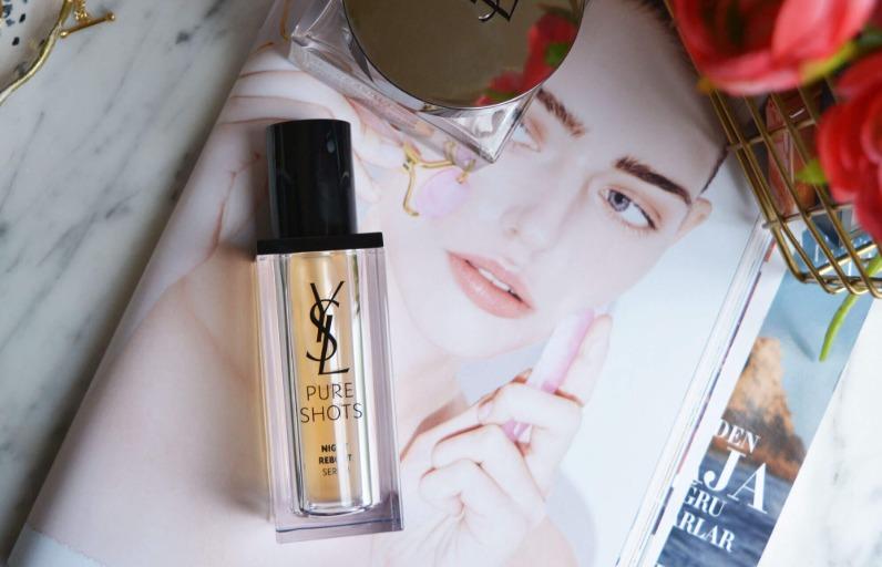 Deniyoruz: YSL Beauty Pure Shots Cilt Bakım Serisi