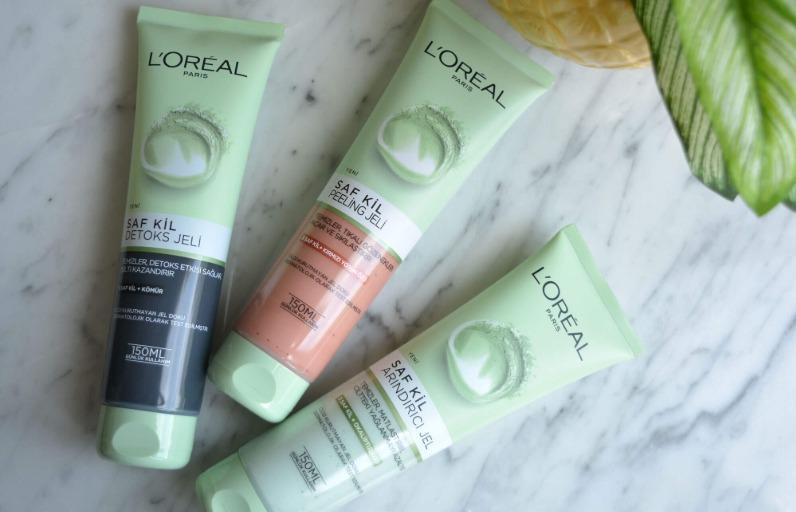Deniyoruz: L'Oréal Paris Saf Kil Yüz Temizleme Jelleri