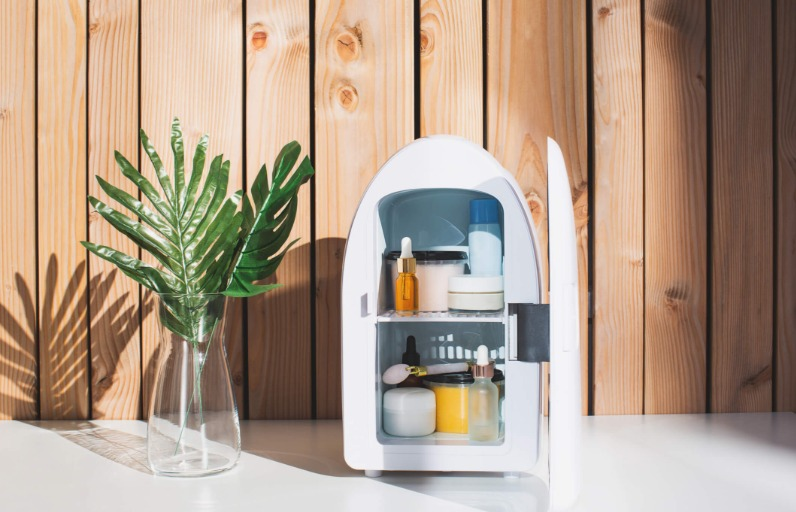 Cilt Bakımı Buzdolabı Nasıl Kullanılır? İçine Neler Konur?